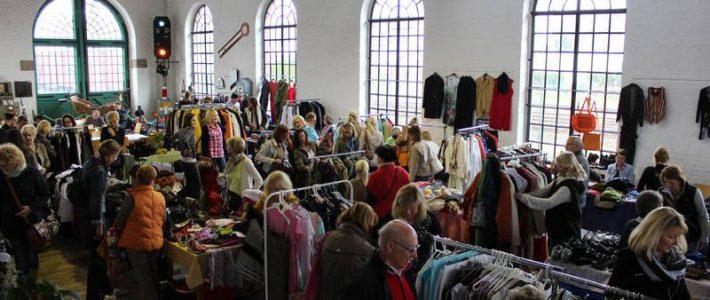 Textil- und Accessoires-Markt im Lokschuppen