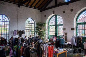 Impressionen vom Textilmarkt