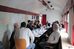 Westerwälder Eisenbahnfreunde zu Gast