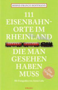 Lokschuppen einer der 111 Eisenbahnorte im Rheinland