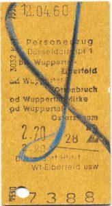 Eine Fahrkarte erzählt