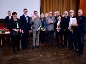 Heimatpreis 2019 der Stadt Erkrath an den Lokschuppenverein