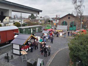 Unser 20. Weihnachtsmarkt am und im Lokschuppen