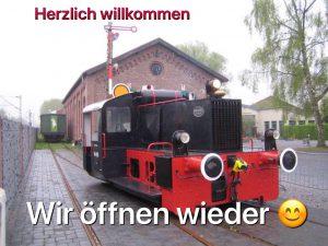 Museum im Lokschuppen Hochdahl öffnet am 24. Mai